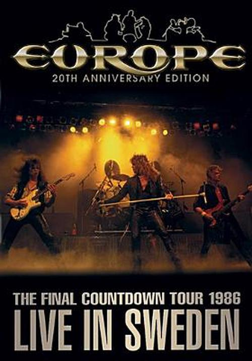 Europe-final-Countdown-Tour-Live-in-S-DVD-Region-1-Brand-New-Free-Shipping