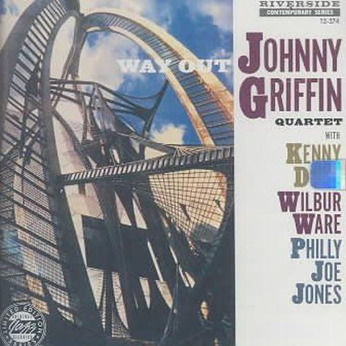 Way-Out-Johnny-Griffin-New-Sealed-Compact-Disc-Free-Shipping