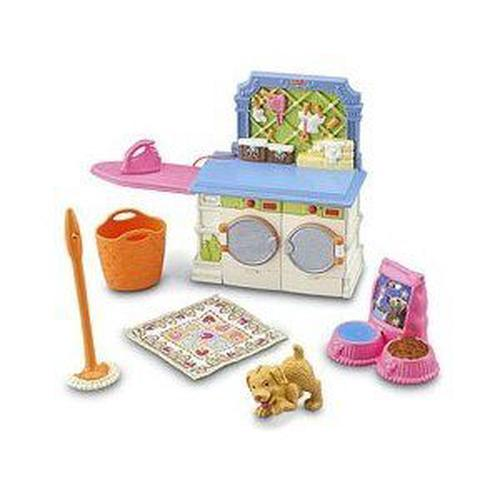 Fisher-price-Loving-Family-Laundry-Fisher-price-NEW-Free-Shipping