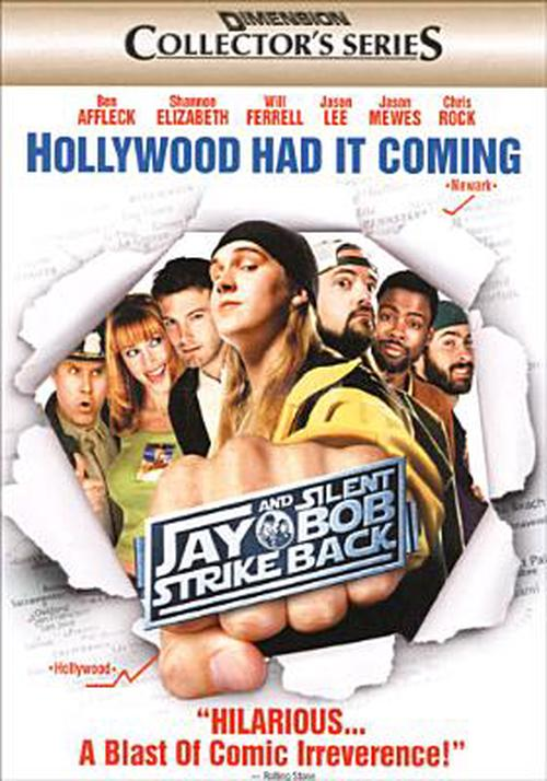 Jay-and-Silent-Bob-Strike-Back-DVD-Region-1-Brand-New-Free-Shipping