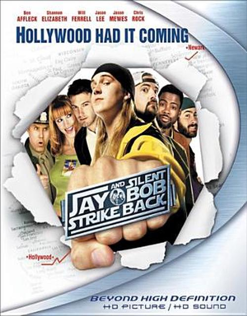 Jay-and-Silent-Bob-Strike-Back-Blu-Ray-Region-1-Brand-New-Free-Shipping