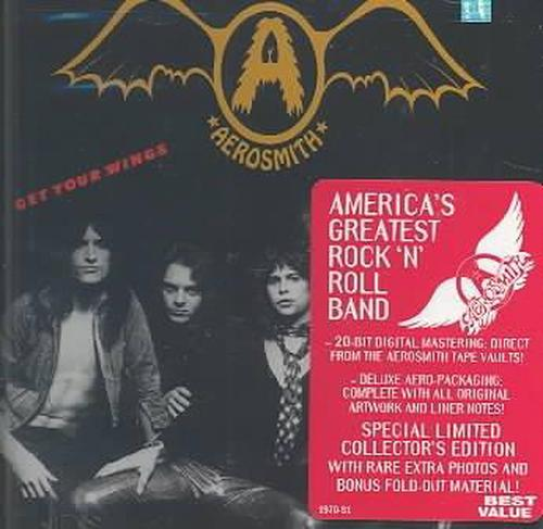 Get-Your-Wings-Aerosmith-New-Sealed-Compact-Disc-Free-Shipping