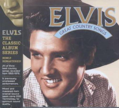 Great-Country-Songs-Elvis-Presley-New-Sealed-Compact-Disc-Free-Shipping