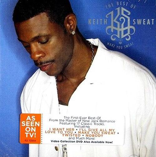 Best-Of-The-Make-You-Sweat-Keith-Sweat-New-Sealed-CD
