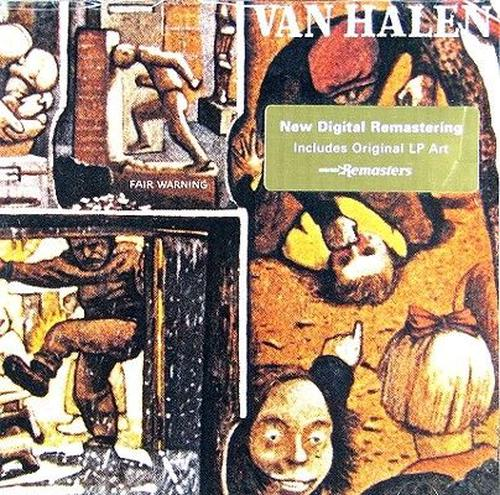 Fair-Warning-Halen-Van-New-Sealed-Compact-Disc-Free-Shipping