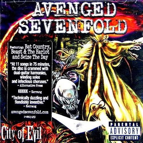 City-Of-Evil-Sevenfold-Avenged-New-Sealed-Compact-Disc-Free-Shipping