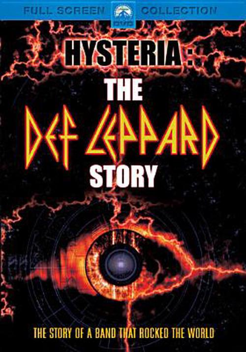 Hysteria-def-Leppard-Story-DVD-Region-1-Brand-New-Free-Shipping