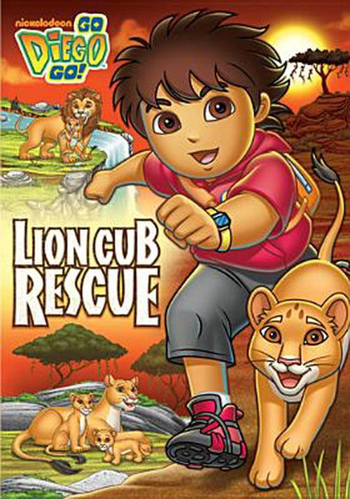 Go-Diego-Go-lion-Cub-Rescue-DVD-Region-1-Brand-New-Free-Shipping