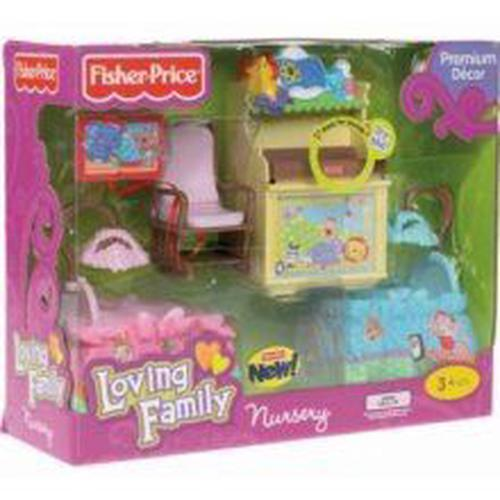 Fisher-Price-Loving-Family-Dollhouse-Nursery-Fisher-Price-NEW-Free-Shipping