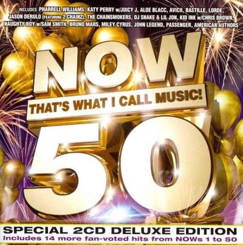 Now-Thats-What-I-Call-Music-50-V-A-New-Sealed-CD-Free-Shipping
