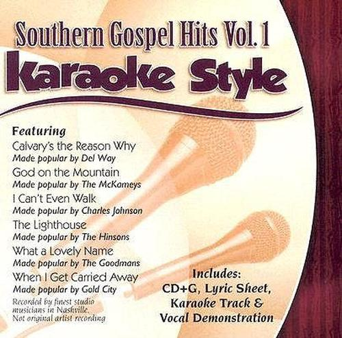 Southern-Gospel-Hits-vol-1-Style-Karaoke-New-Sealed-Compact-Disc-Free-Shippi