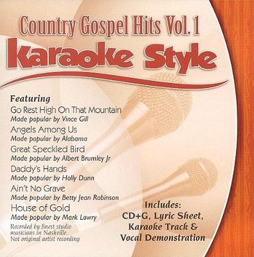 Country-Gospel-Hits-vol-1-Style-Karaoke-New-Sealed-CD-Free-Shipping