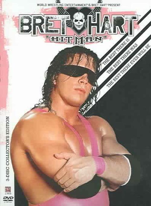 Bret-the-Hitman-Hart-best-There-Is-Th-DVD-Region-1-Brand-New-Free-Shipping