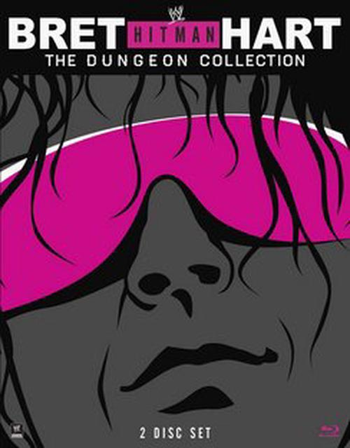 Bret-Hit-Man-Hart-dungeon-Collection-Blu-Ray-Region-1-Brand-New-Free-Shipping