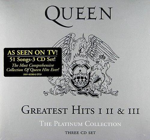 Platinum-Collection-Queen-New-Sealed-CD-Free-Shipping