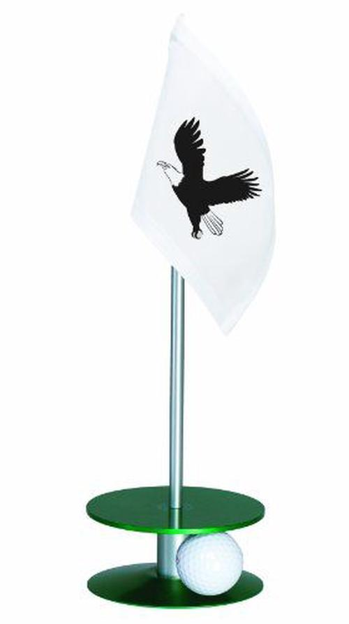 Anne-Stone-Golf-Putt-A-Round-Eagle-Flag-1-Putting-Aid-Green-Small-NEW-Free-Shi