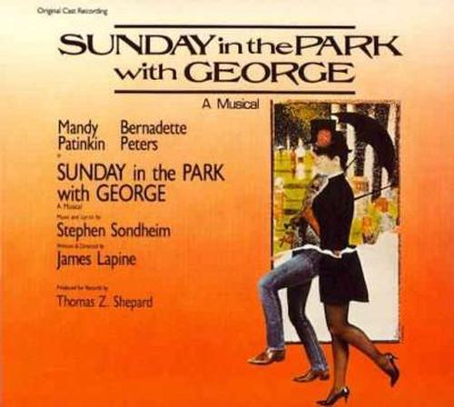 Sunday-in-the-Park-With-George-ocr-BROADWAY-CAST-New-Sealed-CD-Free-Shippi