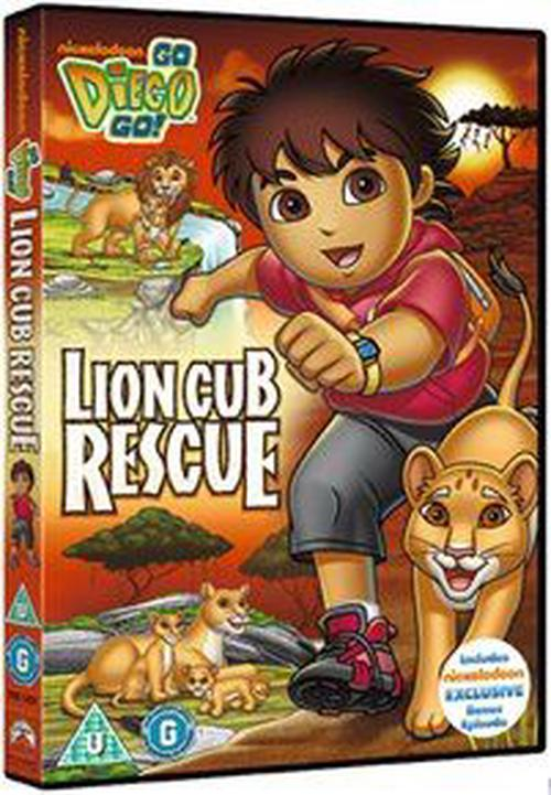Go-Diego-Go-Lion-Cub-Rescue-Digital-Versatile-Disc-DVD-Region-2-Brand-New
