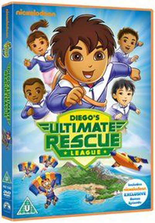 Go-Diego-Go-Diegos-Ultimate-Rescue-League-DVD-Region-2-Brand-New-Free-Shipp