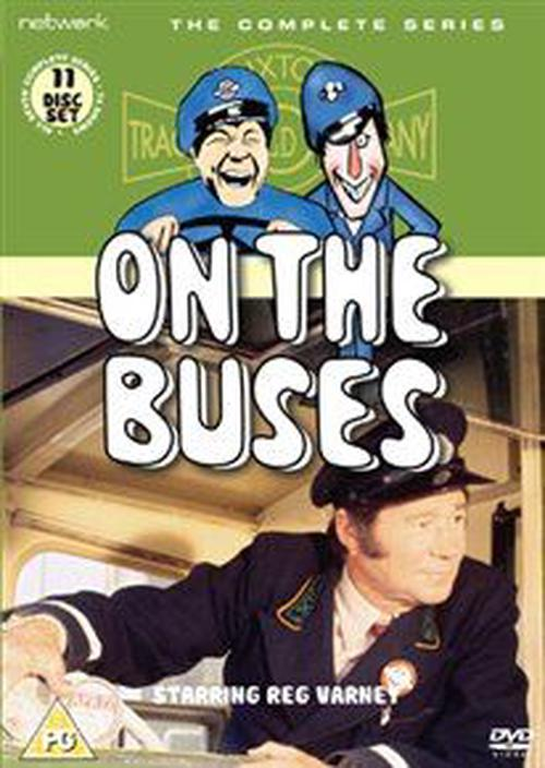 On-the-Buses-The-Complete-Series-Digital-Versatile-Disc-DVD-Brand-New