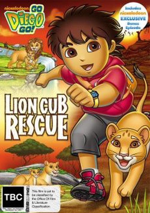 Go-Diego-Lion-Cub-Rescue-DVD-Region-4-Brand-New-Free-Shipping