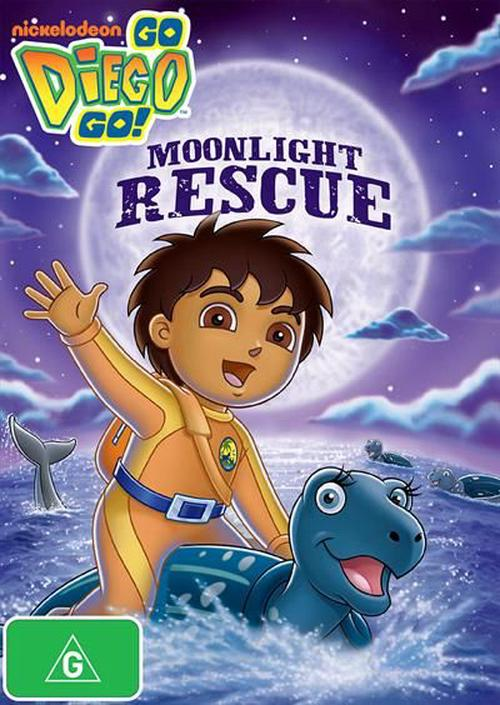 Go-Diego-Go-Moonlight-Rescue-DVD-Region-4-Brand-New-Free-Shipping