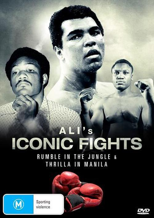 Alis-Iconic-Fights-DVD-Region-4-Brand-New-Free-Shipping