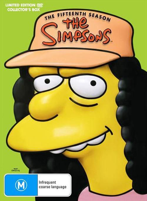 Simpsons-The-Season-15-DVD-Region-4-Brand-New-Free-Shipping
