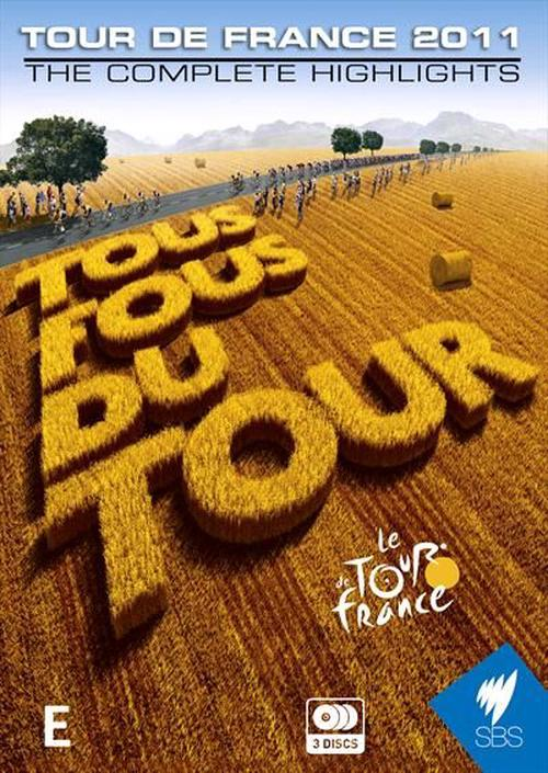 Tour-De-France-2011-The-Complete-Highlights-DVD-Region-4-Brand-New-Free-Ship