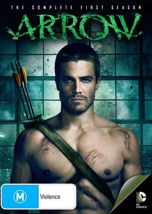 Arrow-Season-1-DVD-Region-4-Brand-New-Free-Shipping