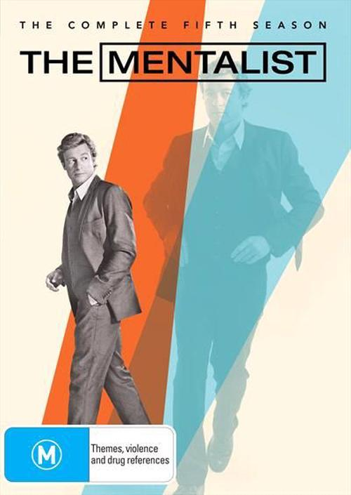 Mentalist-The-Season-5-DVD-Region-4-Brand-New-Free-Shipping
