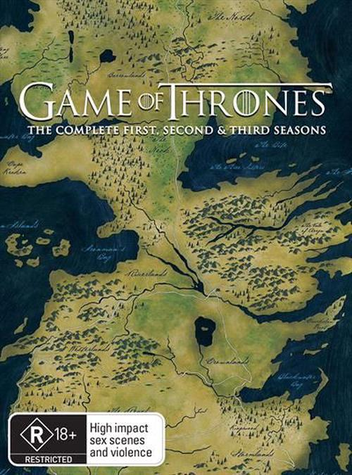 Game-Of-Thrones-Season-1-3-Boxset-DVD-Region-4-Brand-New-Free-Shipping