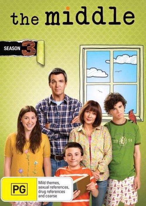Middle-The-Season-3-DVD-Region-4-Brand-New-Free-Shipping