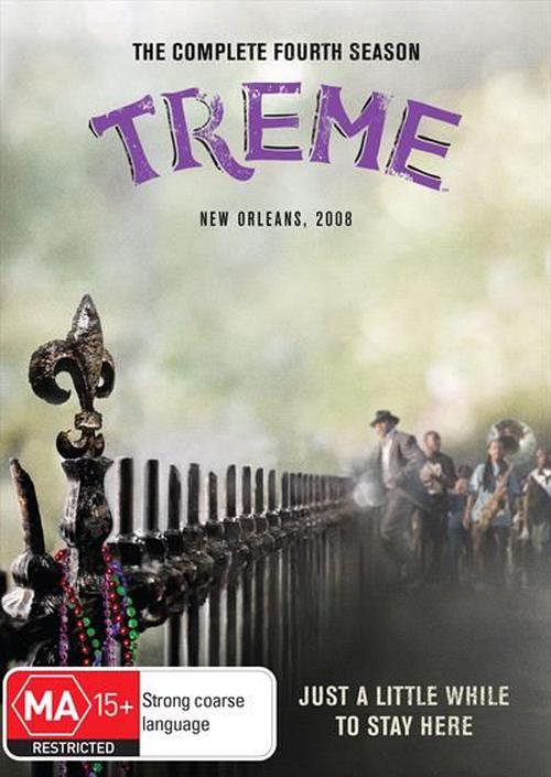 Treme-Season-4-DVD-Region-4-Brand-New-Free-Shipping