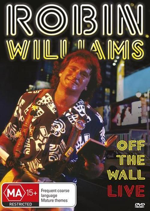 Robin-Williams-Off-The-Wall-Live-DVD-Region-4-Brand-New-Free-Shipping
