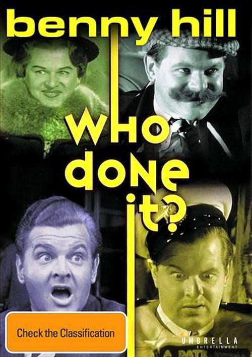 Benny-Hill-Who-Done-It-DVD-Region-4-Brand-New-Free-Shipping