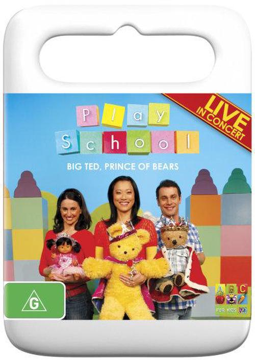 Play-School-Big-Ted-Prince-of-Bears-DVD-Region-4-Brand-New-Free-Shipping