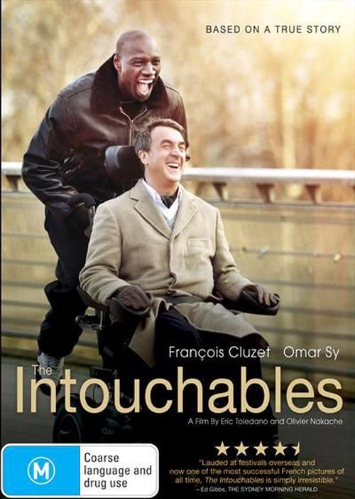 Intouchables-The-DVD-Region-4-Brand-New-Free-Shipping