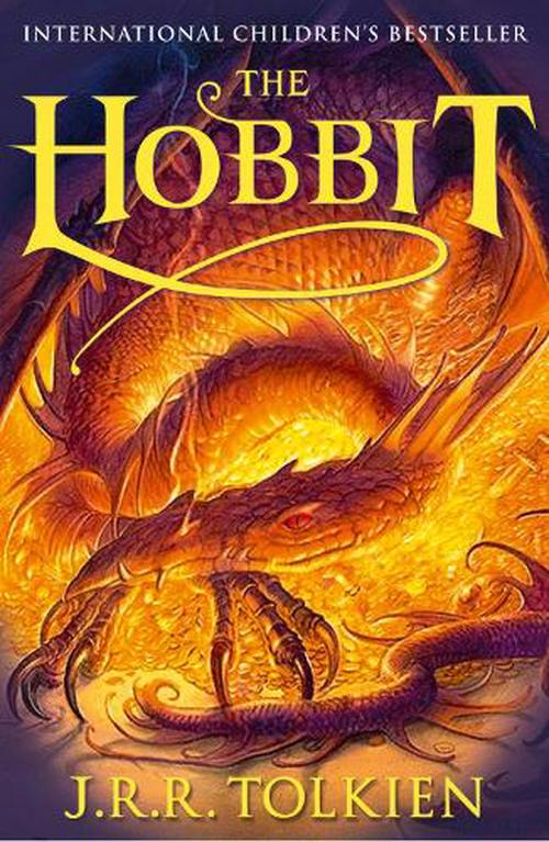 NEW-The-Hobbit-by-J-R-R-Tolkien-Paperback-Book-English-Free-Shipping