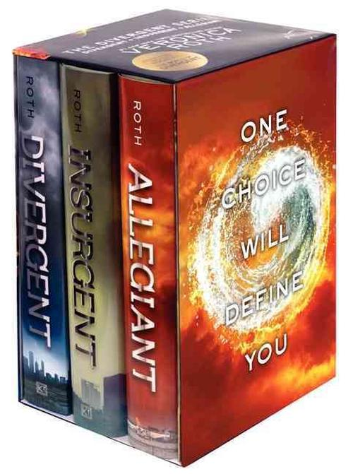 NEW-Divergent-Series-Complete-Box-Set-by-Veronica-Roth-Hardcover-Book-English
