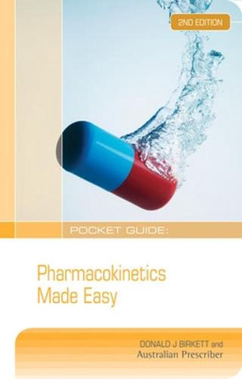 NEW-Pocket-Guide-Pharmacokinetics-Made-Easy-by-Donald-J-Birkett-Paperback-Book