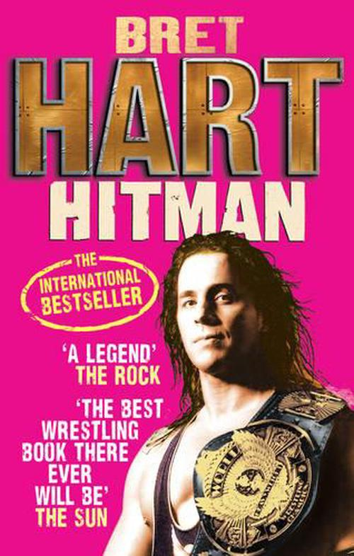 NEW-Hitman-by-Bret-Hart-Paperback-Book-English-Free-Shipping