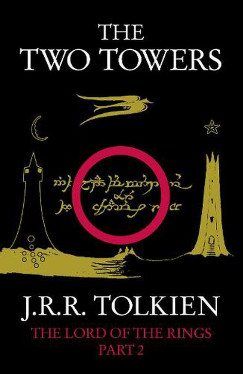 NEW-The-Two-Towers-by-J-R-R-Tolkien-Paperback-Book-Free-Shipping