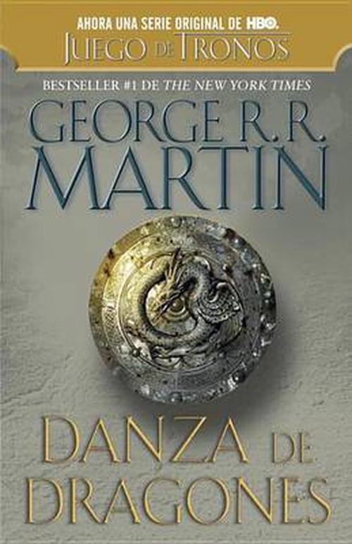 NEW-Danza-de-Dragones-by-George-R-R-Martin-Paperback-Book-Spanish-Free-Shippi