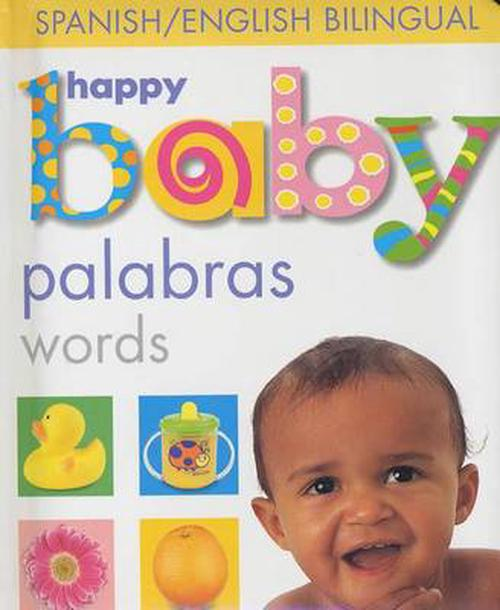 NEW-Happy-Baby-Palabras-by-Roger-Priddy-Board-Books-Book-Spanish-Free-Shipping