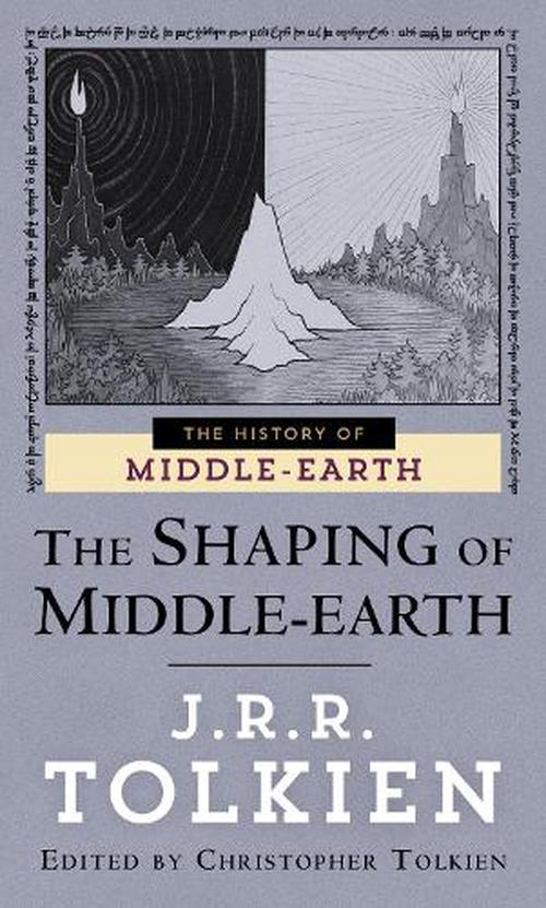 NEW-The-Shaping-of-Middle-Earth-by-J-R-R-Tolkien-Mass-Market-Paperback-Book-En
