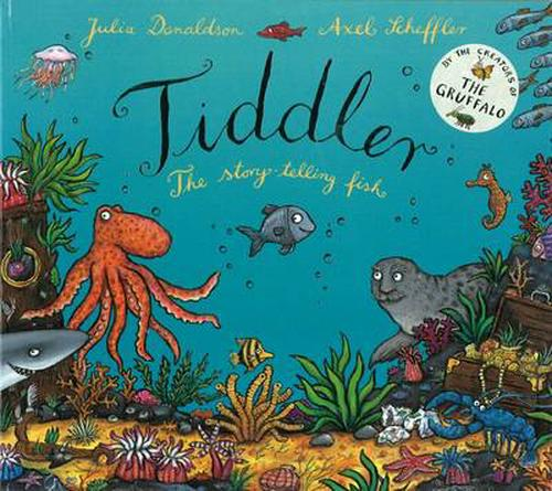 NEW-Tiddler-by-Julia-Donaldson-Hardcover-Book-English-Free-Shipping