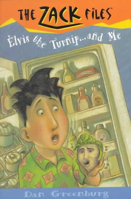 NEW-Zack-Files-14-Elvis-the-Turnip-and-Me-by-Dan-Greenburg-Paperback-Book