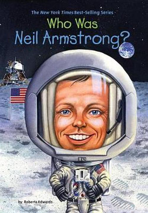 NEW-Who-Was-Neil-Armstrong-by-Roberta-Edwards-Paperback-Book-English-Free-Shi