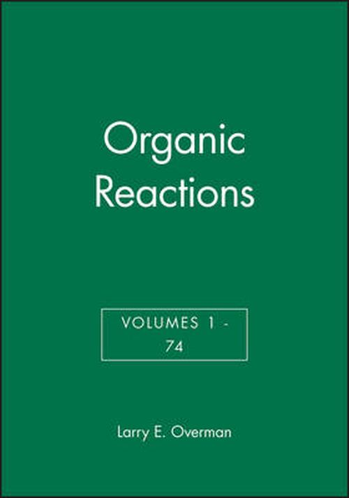 NEW-Organic-Reactions-by-Larry-E-Overman-Hardcover-Book-English-Free-Shipping